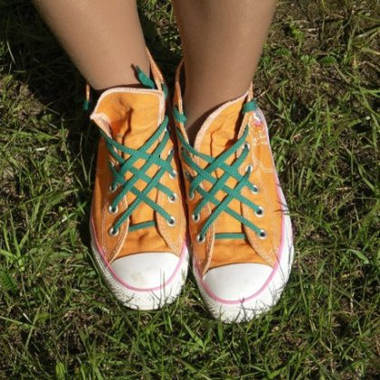Как красиво шнуровать шнурки?