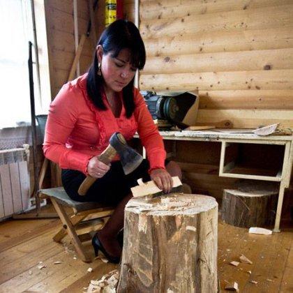 Как сделать игрушки из дерева 26