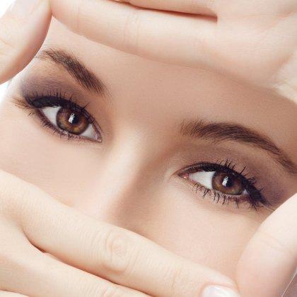 Линзы цветные для глаз без увеличения зрения