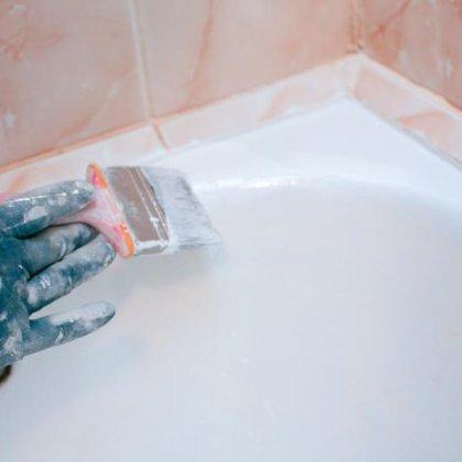 Как восстановить эмаль в ванной своими руками