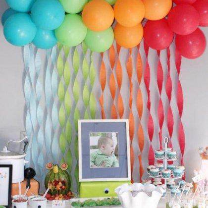 Как украсить детскую комнату в день рождения?