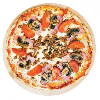 Как приготовить пиццу с мясом?