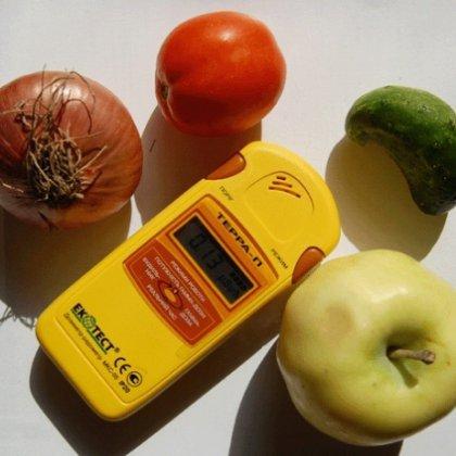 Как измерить радиацию в продуктах?