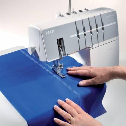 Как отличить коверлок от оверлока: особенности коверлока
