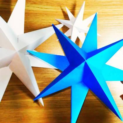 Как сделать звезду из бумаги объемной: варианты дизайна