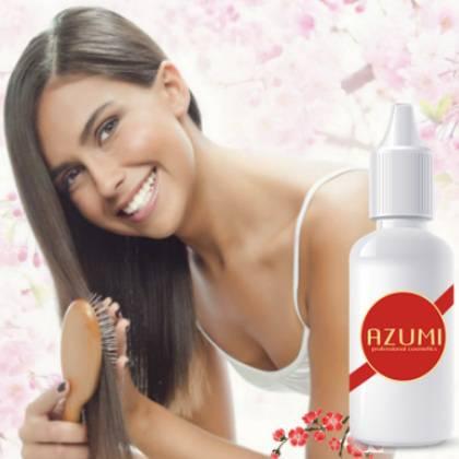 Активные компоненты, которые ускоряют рост волос: достоинства средства Azumi