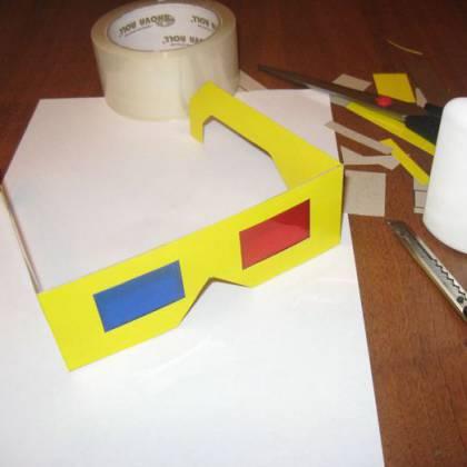 Как сделать 3д очки своими руками: инструкция