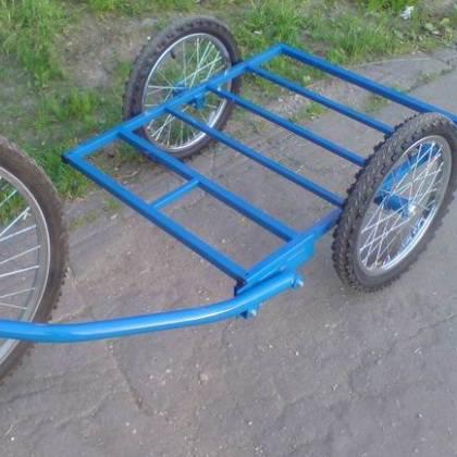 Как сделать велоприцеп своими руками: особенности конструкции