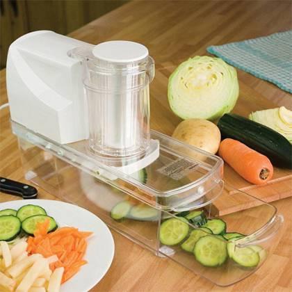 Как сделать электрошинковку для овощей своими руками?