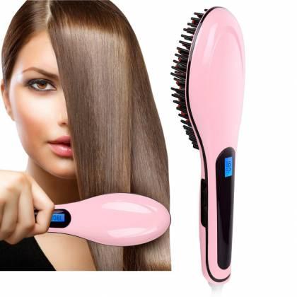 Замечательная расчёска выпрямитель Fast Hair Straightener