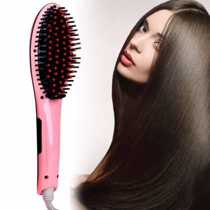 С Fast Hair легко выпрямить волосы любой длины в домашних условиях