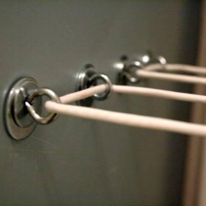 Как надежно натянуть бельевую верёвку? Рекомендации