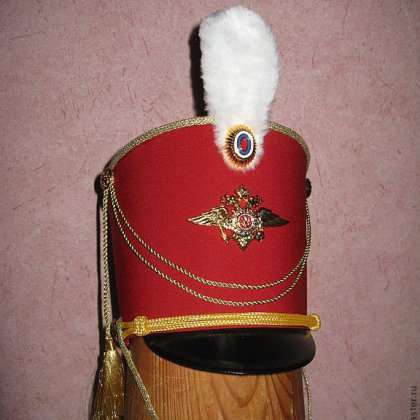 Шляпа гусара своими руками из картона