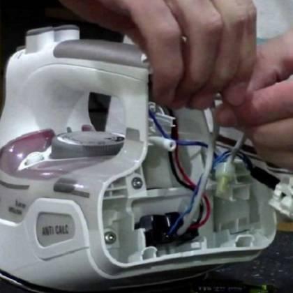 Как отремонтировать утюг своими руками: устройство утюга