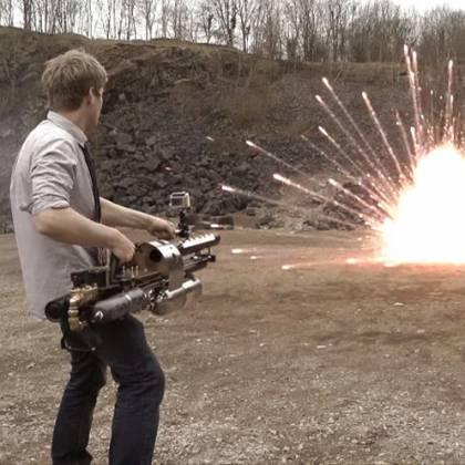 Как сделать пушку своими руками: варианты конструкции