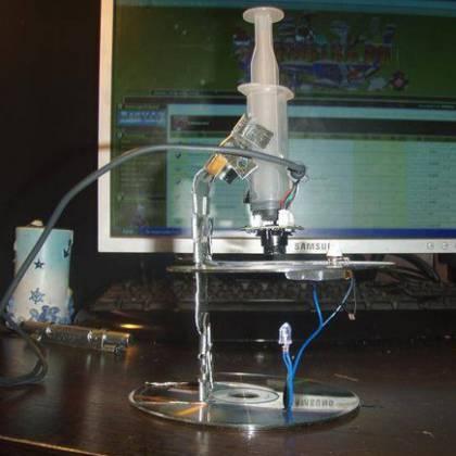 Как сделать микроскоп своими руками из бинокля?