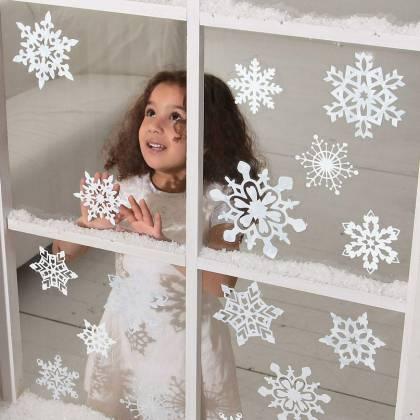 Как сделать снежинку из бумаги к Новому году?