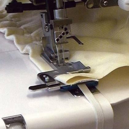 Как пришить резинку к ткани на машинке при шитье?