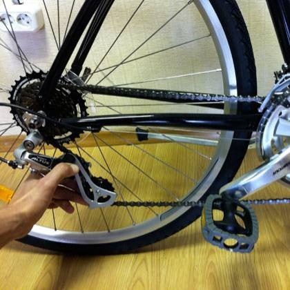 Как правильно натянуть цепь на велосипеде при необходимости?