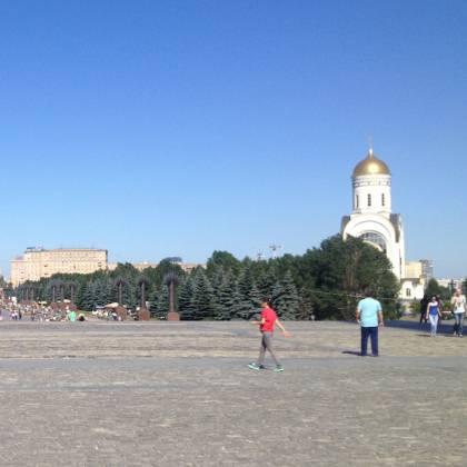 Как доехать до Парка Победы в Москве: маршрут до Поклонной горы