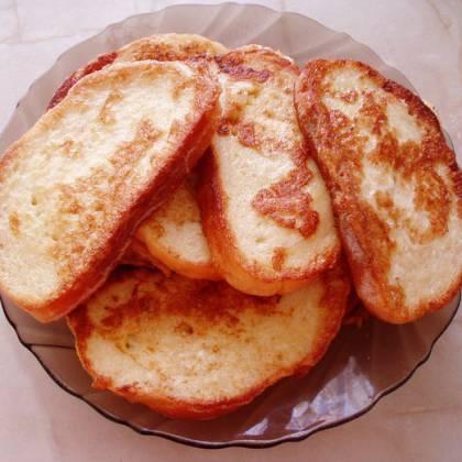 Как пожарить гренки из белого хлеба: ингредиенты и рецепт