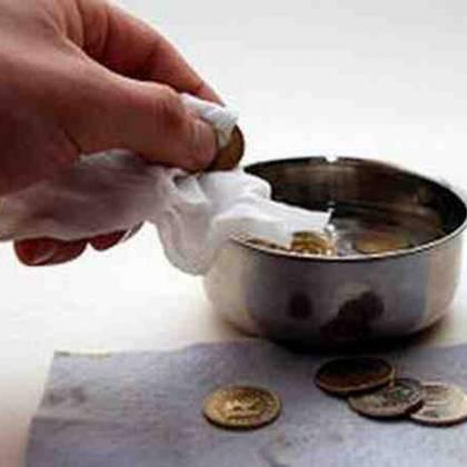 Чем можно почистить серебряную монету? Порядок чистки серебрянных монет