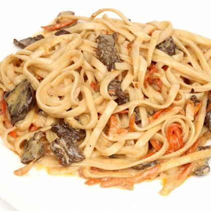 Как вкусно пожарить мясо с подливкой на сковороде, чтобы получилось аппетитно и сочно?