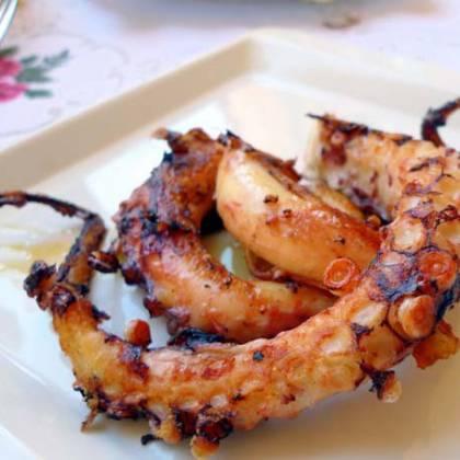 Как готовить щупальца осьминога: секрет приготовления осьминога