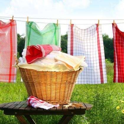 Как легко отстирать кухонные полотенца в домашних условиях?