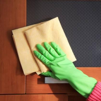 Подборка рекомендаций, как убрать жирные пятна с дверей МДФ