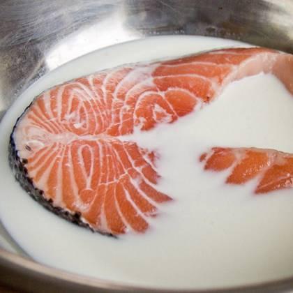 Как вымочить слишком соленую рыбу в молоке? Вымачивание соленой рыбы