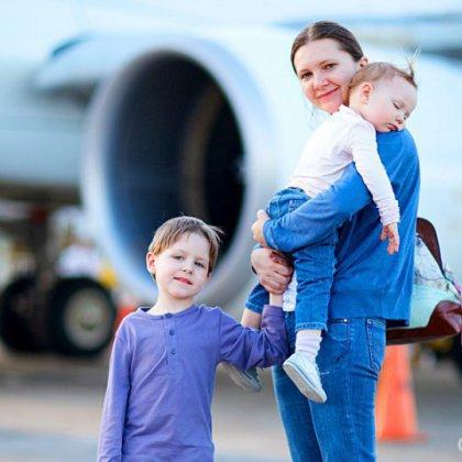 Подготовка ребенка к перелету