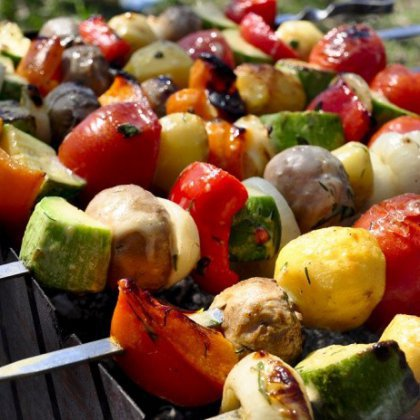 Как приготовить вегетарианский шашлык?