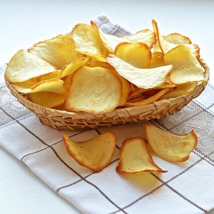 Как сделать домашние чипсы к пиву?