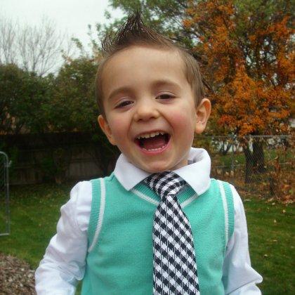 Как завязать детский галстук: