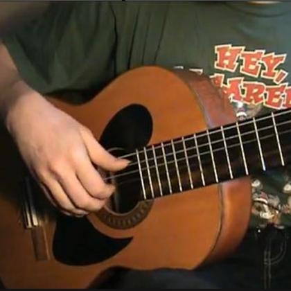 Как играть армейским боем на гитаре?