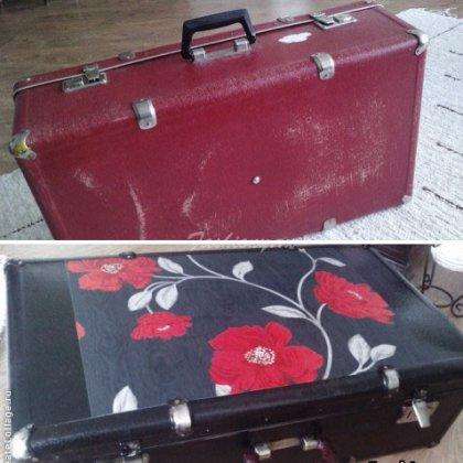 Как обновить старый чемодан?