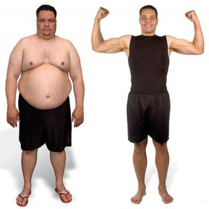 Похудение для мужчин - 3 совета