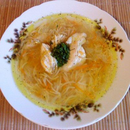 Как варить вермишелевый суп; как приготовить вермешелевый суп?