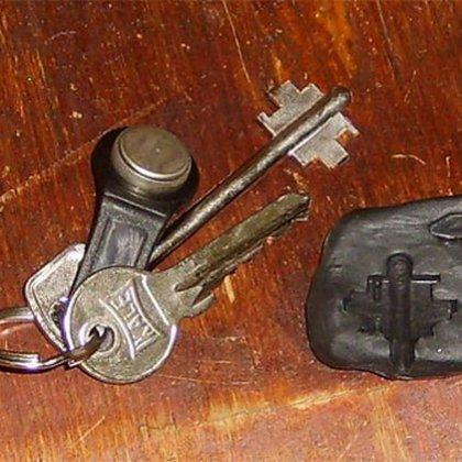 Как сделать слепок ключа?