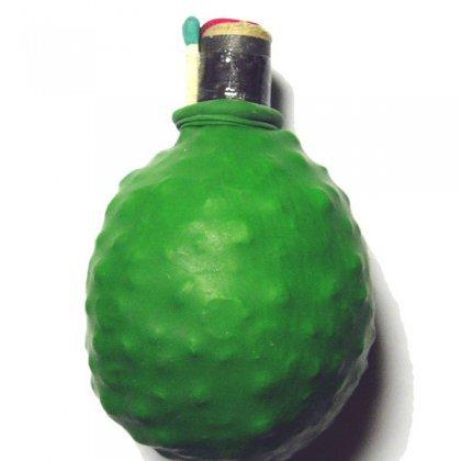 Как сделать гранату из гороха?