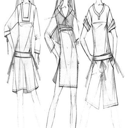 Для того чтобы стать настоящим модельером, необходимо знать, как рисовать эскиз одежды. . В этой статье содержится
