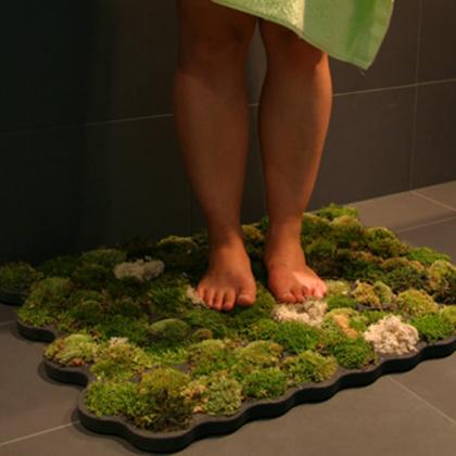 Как связать коврик для ванной?