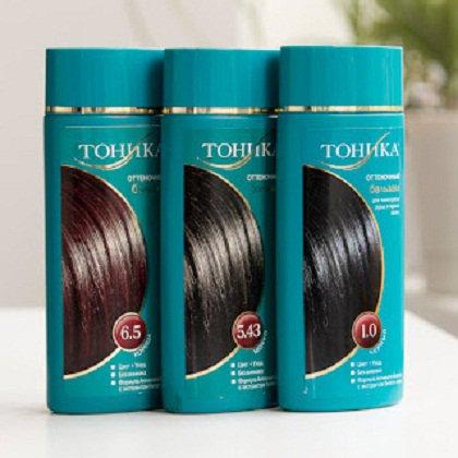 Как красить волосы тоником: тоника для волос