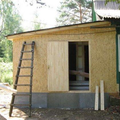 Сделать пристройку деревянному дому своими руками