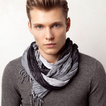 Как модно завязывать шарф 2017 мужчинам