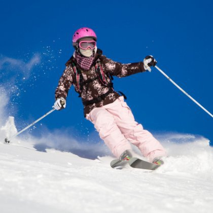 Как правильно кататься на лыжах?