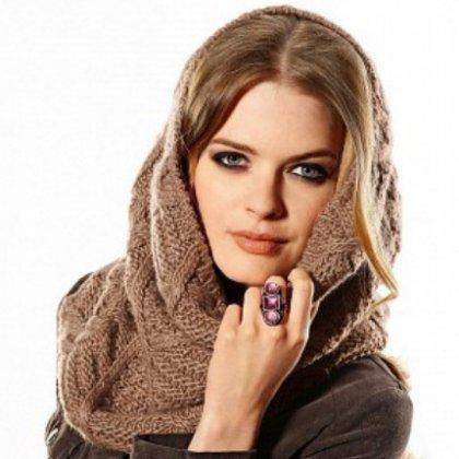 Как правильно завязать большой шарф