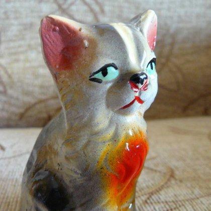 Как сделать из глины кота