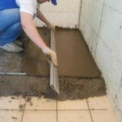 Своими руками бетонная стяжка пола дома